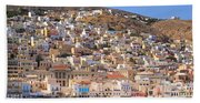 Siros Greece 2  Bath Towel