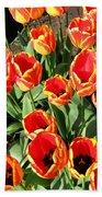 Skagit Valley Tulips 10 Bath Towel