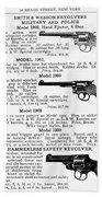 Smith & Wesson Revolvers Bath Towel