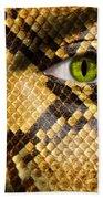 Snake Eye Bath Towel
