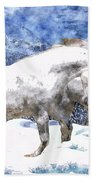 Snow Play Bath Towel