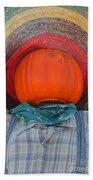 Sombrero Scarecrow Bath Towel