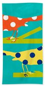 Song Birds Bath Towel