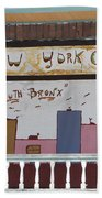 South Bronx - New York City Bath Towel