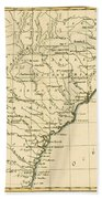 Southeast Coast Of America Bath Towel