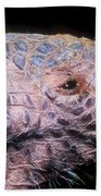 Southern Naked-tail Armadillo Bath Towel