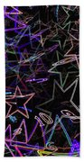 Space And Time Bath Towel