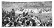 Spain: Bullfight, 1875 Bath Towel