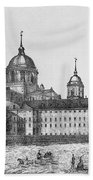Spain: El Escorial, C1860 Bath Towel