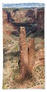 Spider Rock - Canyon De Chelly Bath Towel