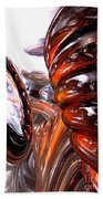 Spiral Dimension Abstract Bath Towel