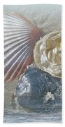 Spirit Of The Sea - Seashells And Surf Bath Towel