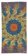 Spiritual Pinwheel Bath Towel