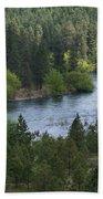 Spokane River Scene 2 Bath Towel