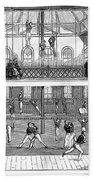 Sports: Gymnastics, 1859 Bath Towel