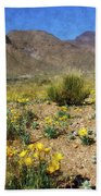 Spring Bloom Franklin Mountains Bath Towel