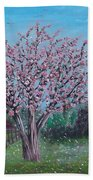 Spring Tree Bath Towel
