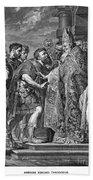 St. Ambrose & Theodosius Bath Towel
