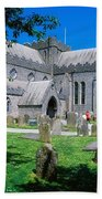 St Canices Cathedral &, Round Tower Bath Towel