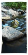 St Francis River At Dusk I Bath Towel