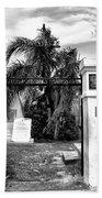 St Louis Cemetery Gate - New Orleans Bath Towel