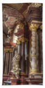 St Stanislaus Church -  Posnan Bath Towel
