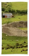 Staigue Fort, Kerry Bath Towel