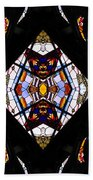 Stained Glass 2 Hand Towel