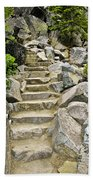 Staircase To Eagle Falls Lake Tahoe Bath Towel