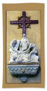 Station Of The Cross 09 Bath Towel