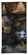 Steampunk - Industrial Society Bath Towel