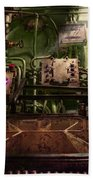 Steampunk - Naval - This Is Where I Do My Job Bath Towel