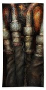 Steampunk - Pipes Hand Towel