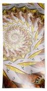 Steampunk - Spiral - Time Iris Bath Towel