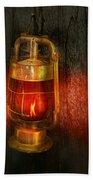 Steampunk - Red Light District Bath Towel