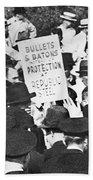 Steel Strike, 1937 Bath Towel