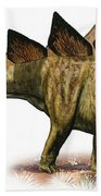 Stegosaurus Armatus, A Prehistoric Era Bath Towel