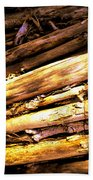Sticks Bath Towel