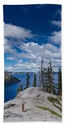 Storm Clearing From Discovery Point Bath Towel