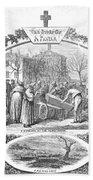 Story Of A Pauper, 1868 Bath Towel
