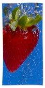 Strawberry Soda Dunk 7 Bath Towel