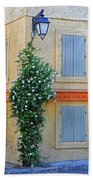 Street Corner In Provence Bath Towel
