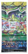 Street Graffiti - Tubs IIi Bath Towel