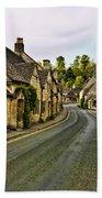 Street In Castle Combe Bath Towel
