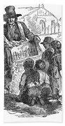 Street Musician, 1850 Bath Towel