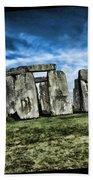 Striking Scene Of Stonehenge Bath Towel