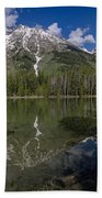 String Lake Panorama Bath Towel