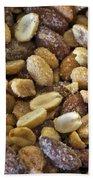 Sugar Coated Mixed Nuts Bath Towel