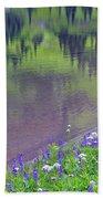 Summer Abstract At Tipsoo Lake Bath Towel