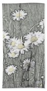 Summer Daisies Bath Towel